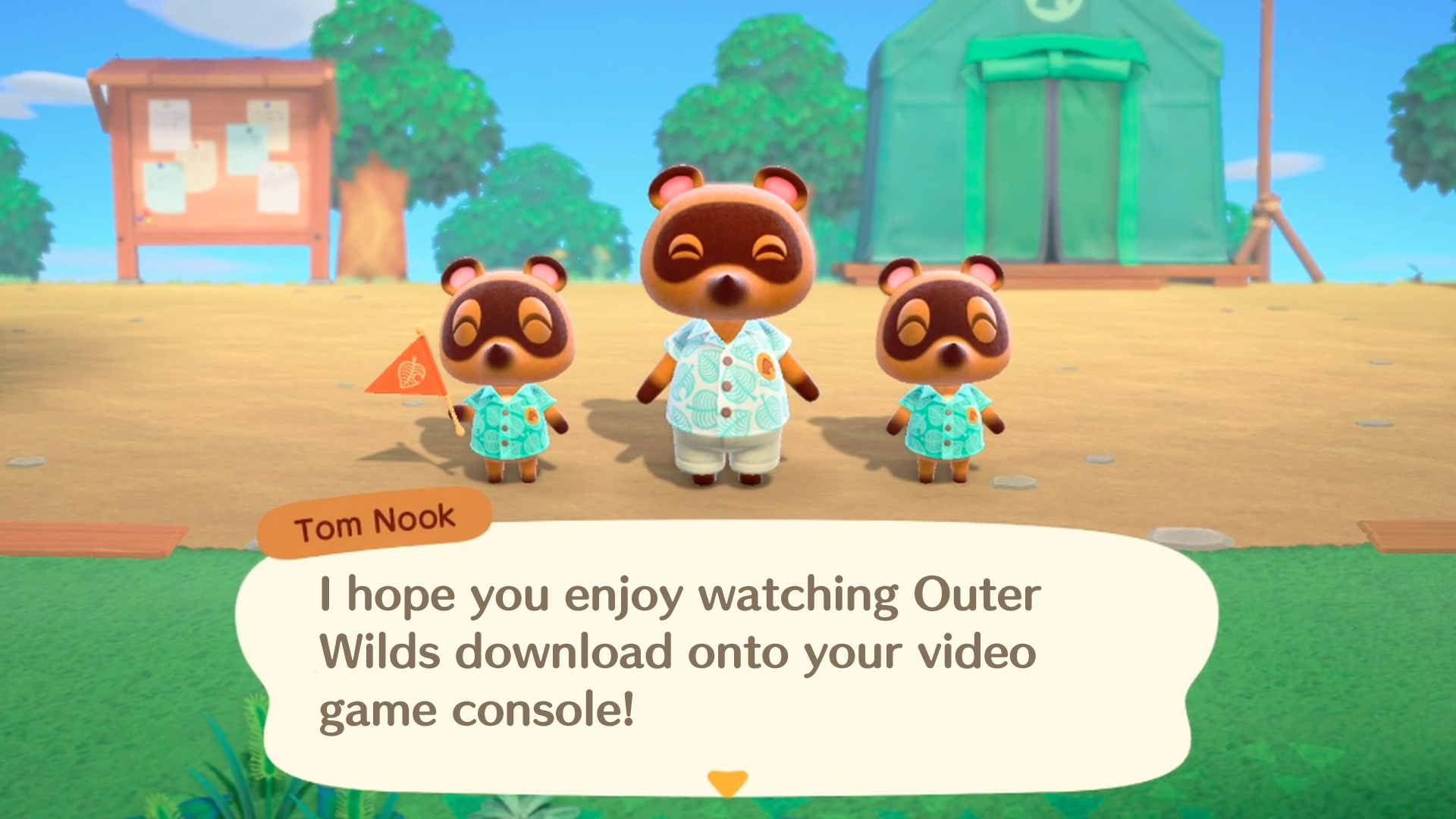 I hope you enjoy watching Outer Wilds download onto your video game console!
