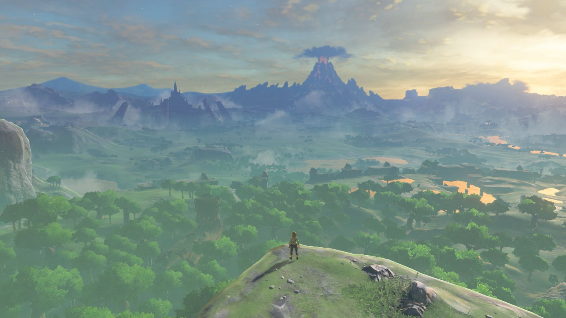 Screenshot of Breath of the Wild